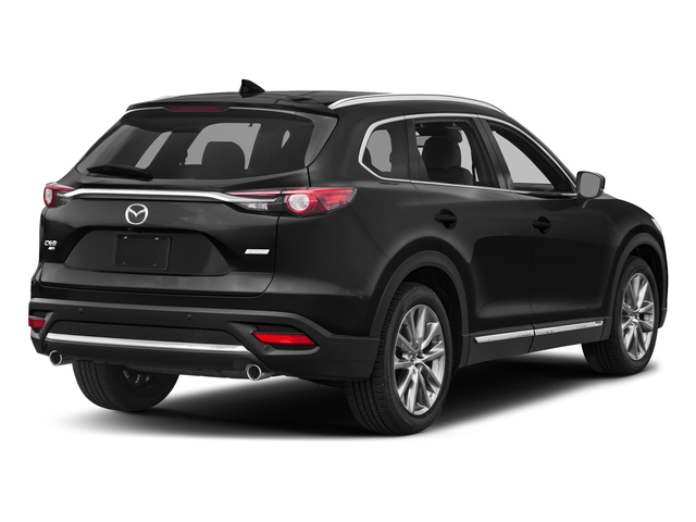 Jet Black Mica 2017 Mazda CX-9 Pictures CX-9 Utility 4D Signature AWD I4 photos rear view