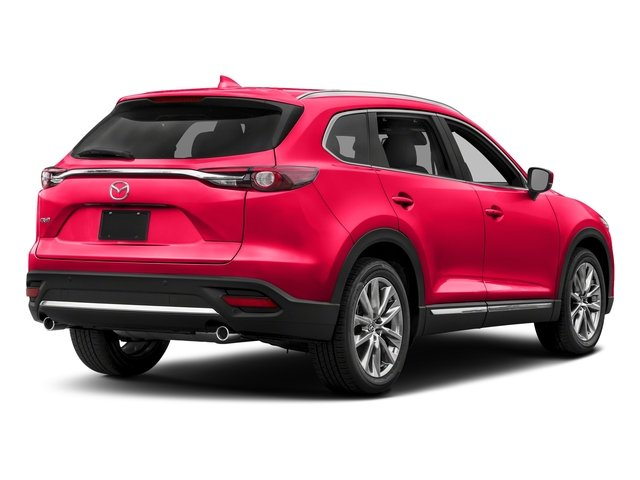 Soul Red Metallic 2017 Mazda CX-9 Pictures CX-9 Utility 4D GT 2WD I4 photos rear view