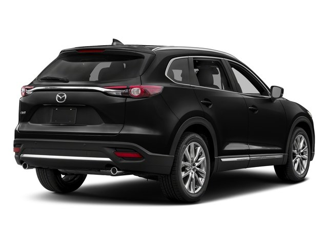 Jet Black Mica 2017 Mazda CX-9 Pictures CX-9 Utility 4D GT 2WD I4 photos rear view