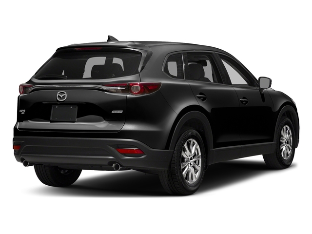 Jet Black Mica 2017 Mazda CX-9 Pictures CX-9 Touring AWD photos rear view