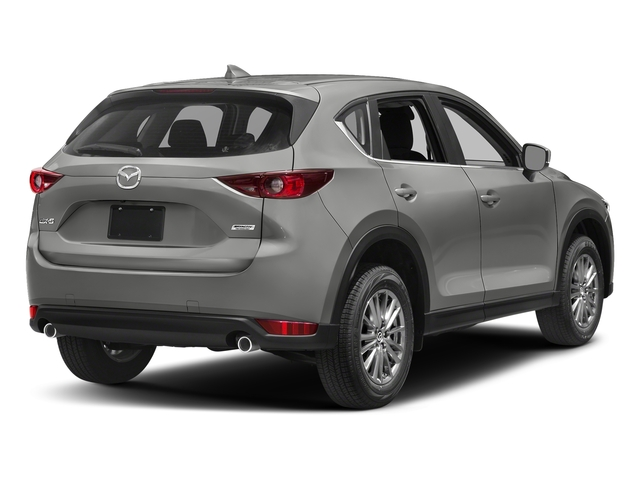Sonic Silver Metallic 2017 Mazda CX-5 Pictures CX-5 Utility 4D Sport 2WD I4 photos rear view