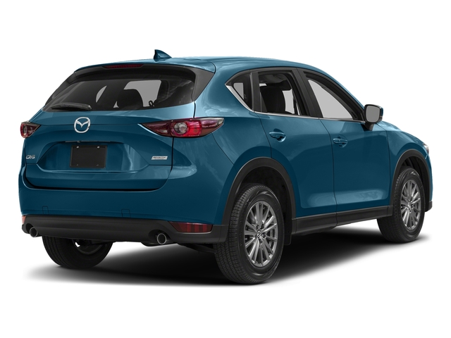 Eternal Blue Mica 2017 Mazda CX-5 Pictures CX-5 Utility 4D Touring 2WD I4 photos rear view
