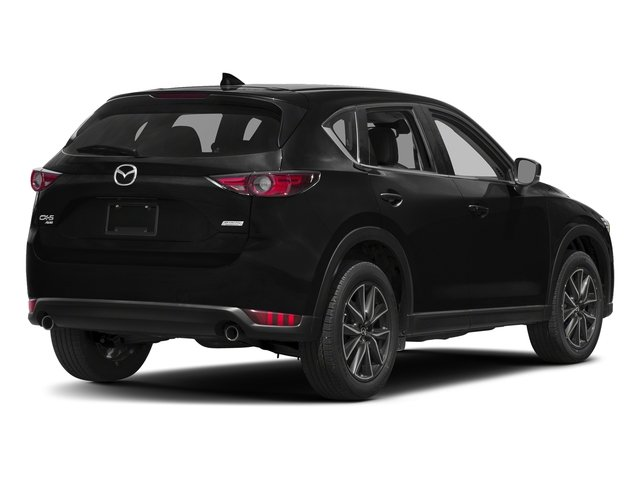 Jet Black Mica 2017 Mazda CX-5 Pictures CX-5 Grand Touring AWD photos rear view