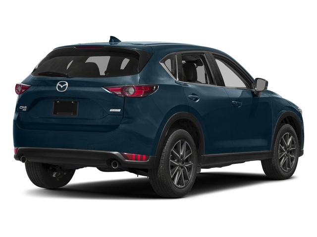 Deep Crystal Blue Mica 2017 Mazda CX-5 Pictures CX-5 Grand Touring AWD photos rear view