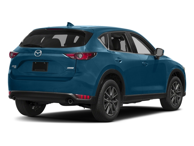 Eternal Blue Mica 2017 Mazda CX-5 Pictures CX-5 Grand Touring AWD photos rear view