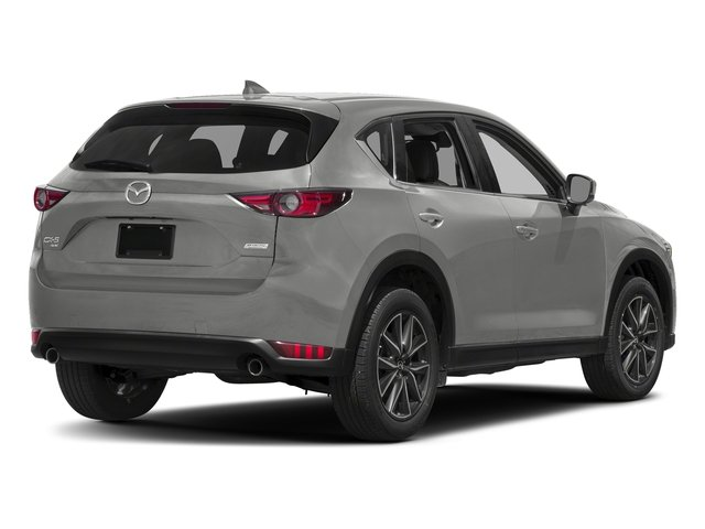 Sonic Silver Metallic 2017 Mazda CX-5 Pictures CX-5 Grand Touring AWD photos rear view
