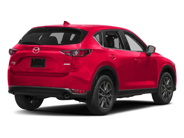Soul Red Crystal Metallic 2017 Mazda CX-5 Pictures CX-5 Grand Touring AWD photos rear view
