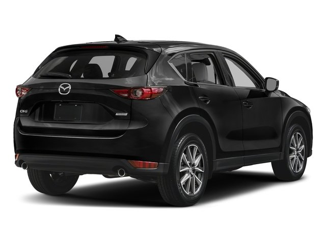 Jet Black Mica 2017 Mazda CX-5 Pictures CX-5 Utility 4D GT 2WD I4 photos rear view
