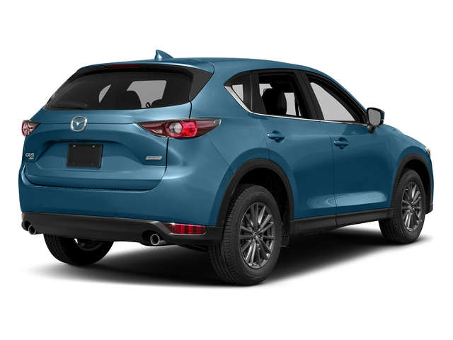 Eternal Blue Mica 2017 Mazda CX-5 Pictures CX-5 Utility 4D Touring AWD I4 photos rear view