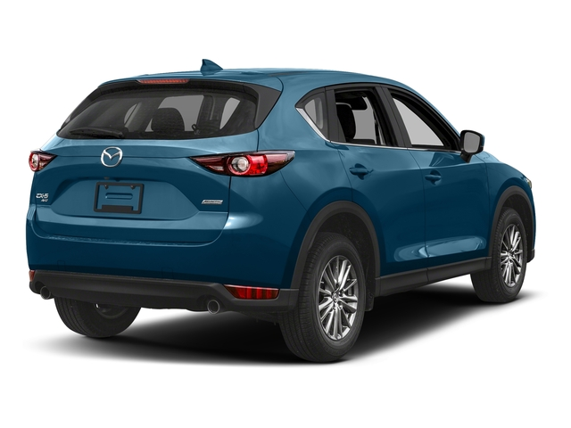 Eternal Blue Mica 2017 Mazda CX-5 Pictures CX-5 Utility 4D Sport AWD I4 photos rear view