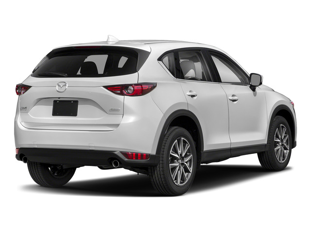 Snowflake White Pearl Mica 2017 Mazda CX-5 Pictures CX-5 Grand Select FWD photos rear view