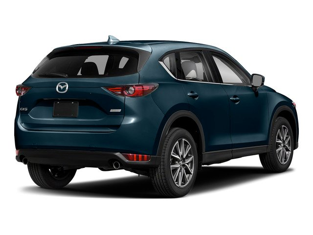Deep Crystal Blue Mica 2017 Mazda CX-5 Pictures CX-5 Grand Select FWD photos rear view