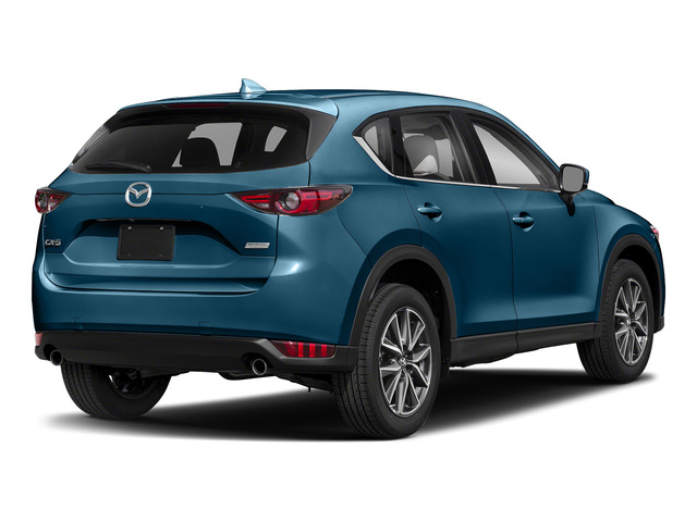 Eternal Blue Mica 2017 Mazda CX-5 Pictures CX-5 Grand Select FWD photos rear view