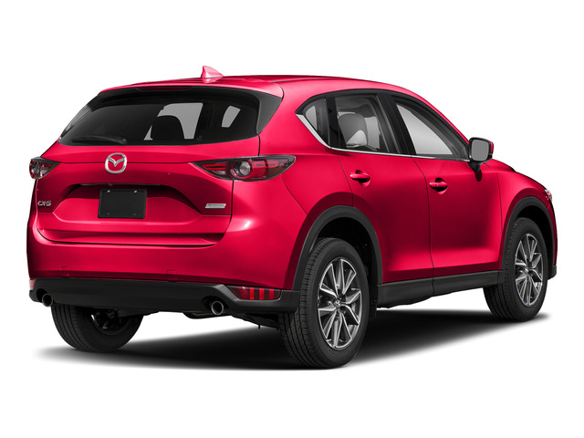 Soul Red Crystal Metallic 2017 Mazda CX-5 Pictures CX-5 Utility 4D Grand Select 2WD photos rear view