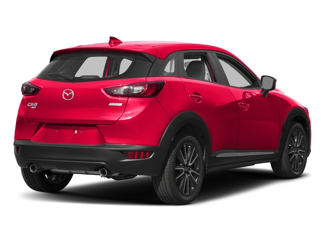 Soul Red Metallic 2017 Mazda CX-3 Pictures CX-3 Utility 4D GT AWD I4 photos rear view