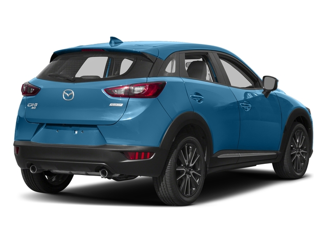 Dynamic Blue Mica 2017 Mazda CX-3 Pictures CX-3 Utility 4D GT AWD I4 photos rear view