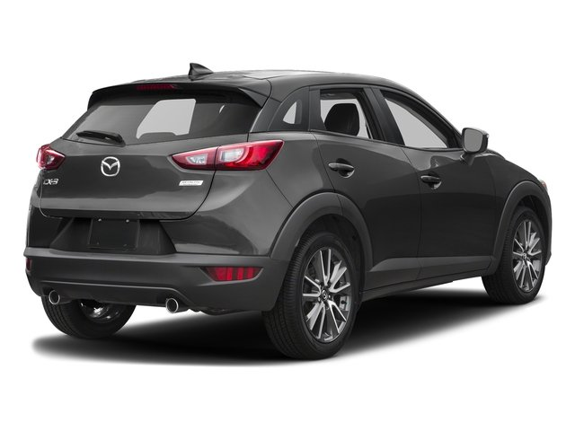 Jet Black Mica 2017 Mazda CX-3 Pictures CX-3 Touring FWD photos rear view