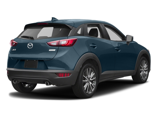 Deep Crystal Blue Mica 2017 Mazda CX-3 Pictures CX-3 Touring FWD photos rear view