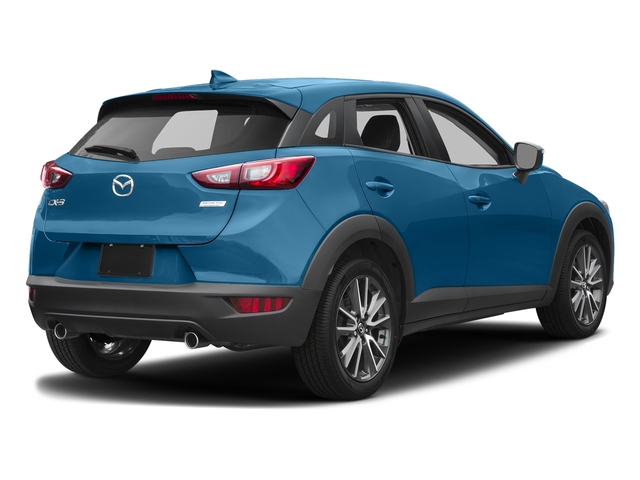 Dynamic Blue Mica 2017 Mazda CX-3 Pictures CX-3 Touring FWD photos rear view