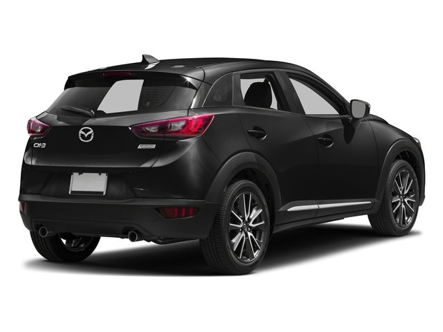 Jet Black Mica 2017 Mazda CX-3 Pictures CX-3 Utility 4D GT 2WD I4 photos rear view
