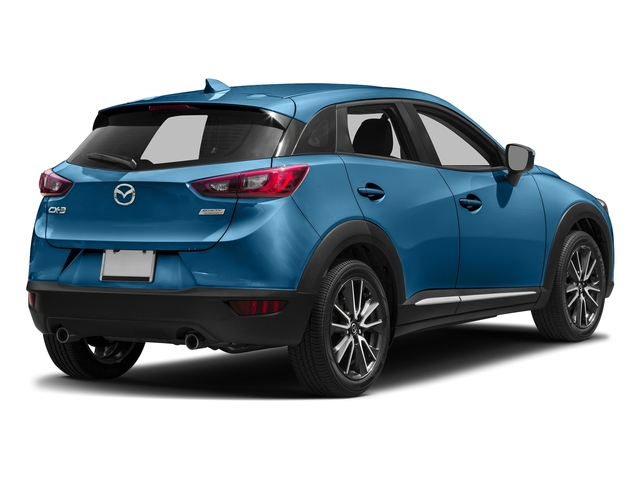 Dynamic Blue Mica 2017 Mazda CX-3 Pictures CX-3 Utility 4D GT 2WD I4 photos rear view