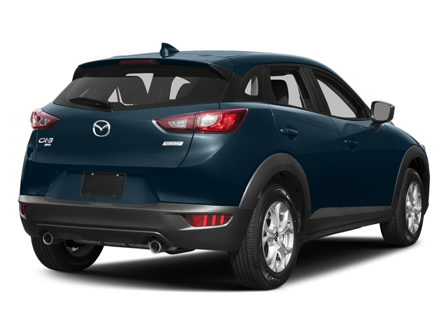 Deep Crystal Blue Mica 2017 Mazda CX-3 Pictures CX-3 Utility 4D Sport AWD I4 photos rear view
