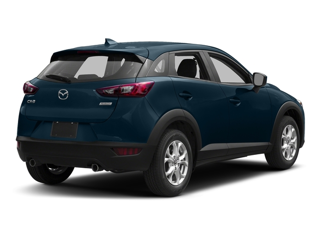 Deep Crystal Blue Mica 2017 Mazda CX-3 Pictures CX-3 Utility 4D Sport 2WD I4 photos rear view