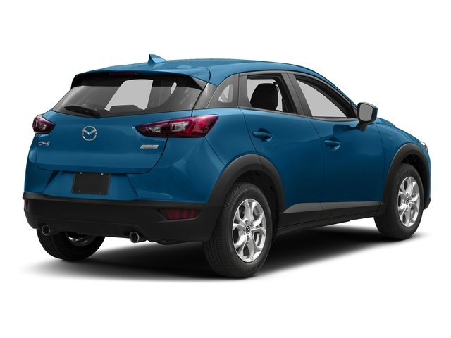Dynamic Blue Mica 2017 Mazda CX-3 Pictures CX-3 Utility 4D Sport 2WD I4 photos rear view