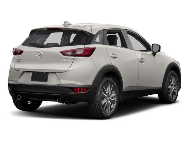 Crystal White Pearl Mica 2017 Mazda CX-3 Pictures CX-3 Utility 4D Touring AWD I4 photos rear view