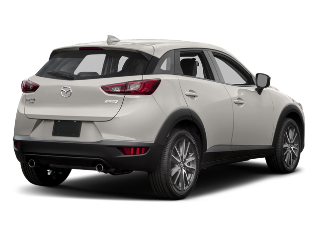 Crystal White Pearl Mica 2017 Mazda CX-3 Pictures CX-3 Touring AWD photos rear view