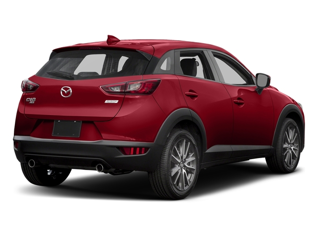 Soul Red Metallic 2017 Mazda CX-3 Pictures CX-3 Utility 4D Touring AWD I4 photos rear view