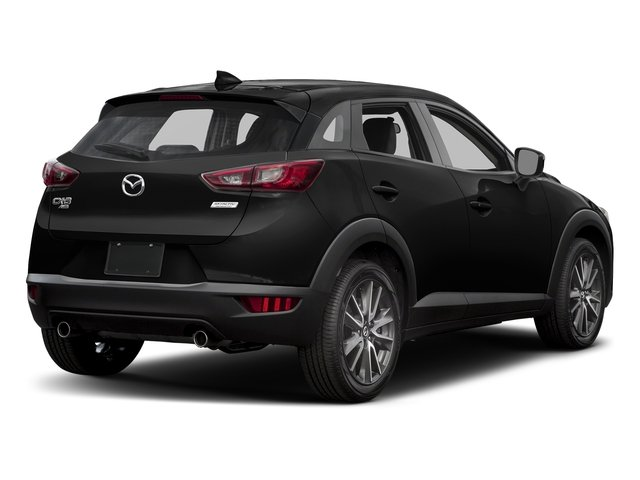 Jet Black Mica 2017 Mazda CX-3 Pictures CX-3 Touring AWD photos rear view