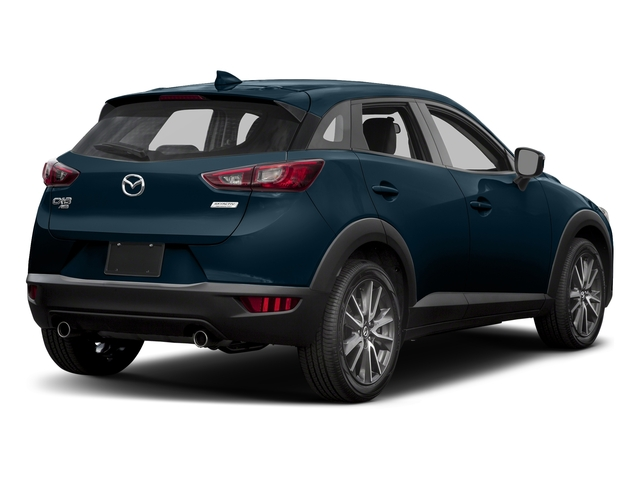 Deep Crystal Blue Mica 2017 Mazda CX-3 Pictures CX-3 Touring AWD photos rear view