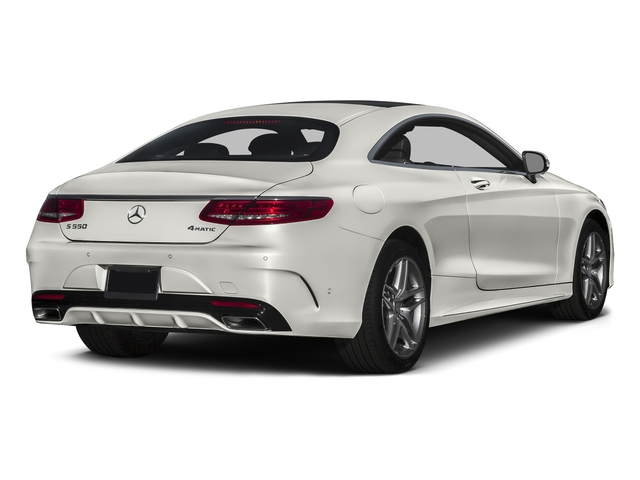 designo Magno Cashmere White (Matte Finish) 2017 Mercedes-Benz S-Class Pictures S-Class S 550 4MATIC Coupe photos rear view