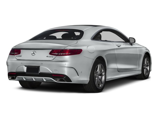 Iridium Silver Metallic 2017 Mercedes-Benz S-Class Pictures S-Class Coupe 2D S550 AWD V8 Turbo photos rear view