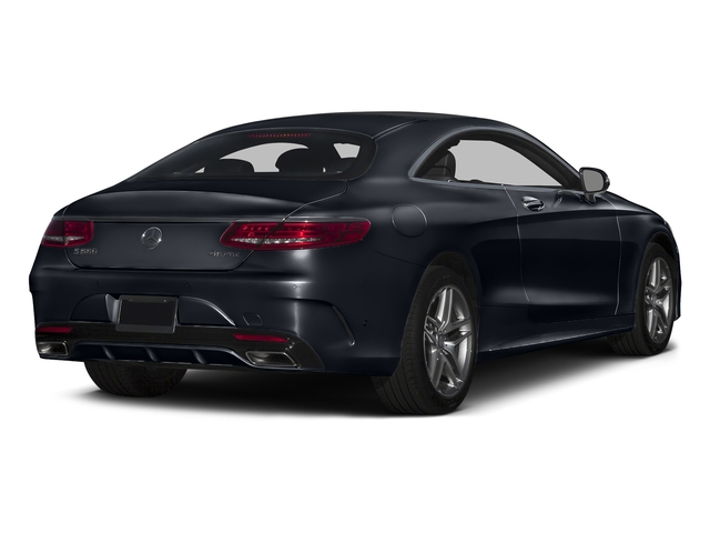 Anthracite Blue Metallic 2017 Mercedes-Benz S-Class Pictures S-Class S 550 4MATIC Coupe photos rear view