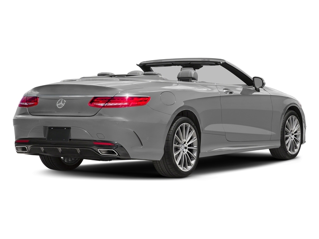 designo Magno Alanite Grey (Matte Finish) 2017 Mercedes-Benz S-Class Pictures S-Class Convertible 2D S550 V8 Turbo photos rear view