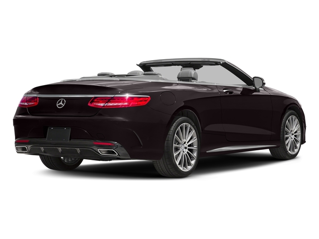 Ruby Black Metallic 2017 Mercedes-Benz S-Class Pictures S-Class Convertible 2D S550 V8 Turbo photos rear view