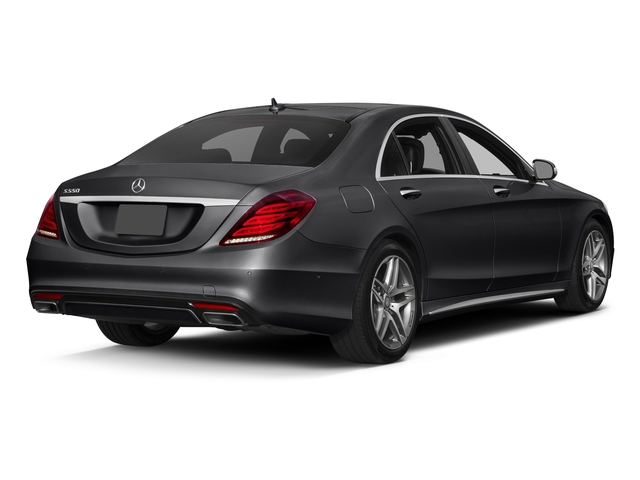 Black 2017 Mercedes-Benz S-Class Pictures S-Class Sedan 4D S550 V8 Turbo photos rear view