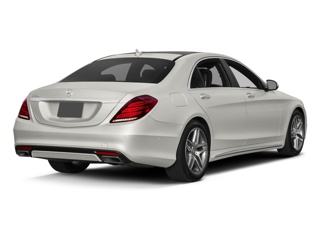 designo Magno Cashmere White (Matte Finish) 2017 Mercedes-Benz S-Class Pictures S-Class Sedan 4D S550 V8 Turbo photos rear view