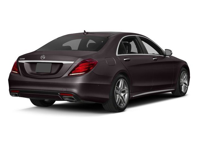 Ruby Black Metallic 2017 Mercedes-Benz S-Class Pictures S-Class Sedan 4D S550 V8 Turbo photos rear view