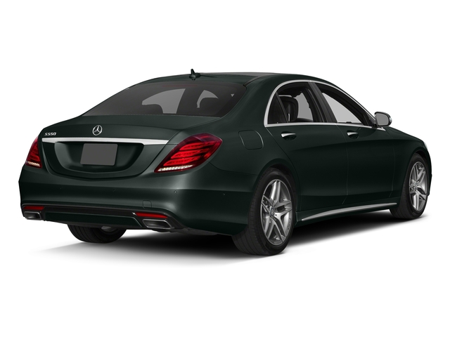 Emerald Green Metallic 2017 Mercedes-Benz S-Class Pictures S-Class Sedan 4D S550 V8 Turbo photos rear view
