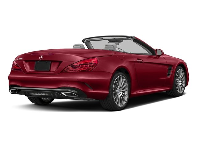 Mars Red 2017 Mercedes-Benz SL Pictures SL SL 550 Roadster photos rear view