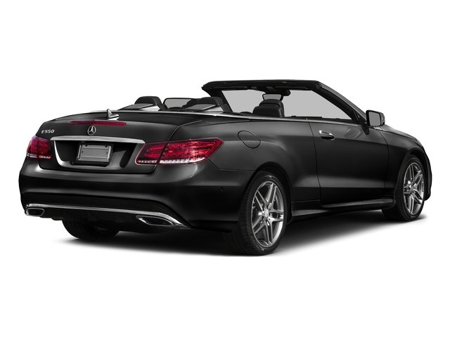 Obsidian Black Metallic 2017 Mercedes-Benz E-Class Pictures E-Class E 550 RWD Cabriolet photos rear view