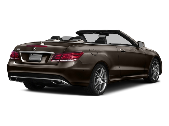 Dolomite Brown Metallic 2017 Mercedes-Benz E-Class Pictures E-Class E 550 RWD Cabriolet photos rear view