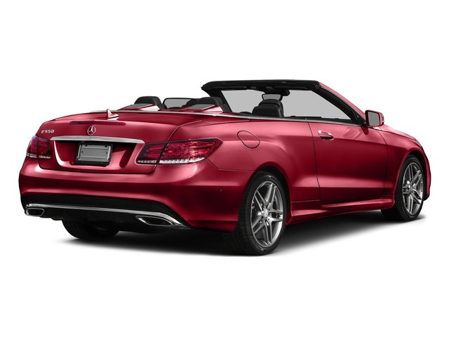 Mars Red 2017 Mercedes-Benz E-Class Pictures E-Class E 550 RWD Cabriolet photos rear view