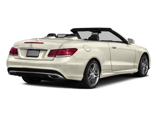 designo Diamond White Metallic 2017 Mercedes-Benz E-Class Pictures E-Class E 550 RWD Cabriolet photos rear view