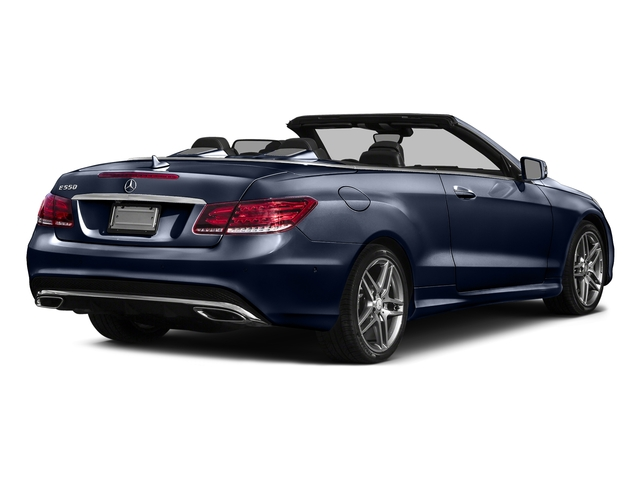 Lunar Blue Metallic 2017 Mercedes-Benz E-Class Pictures E-Class E 550 RWD Cabriolet photos rear view