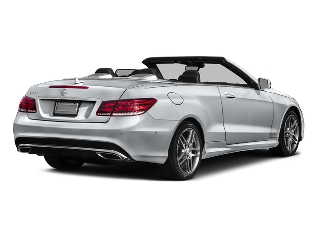 Diamond Silver Metallic 2017 Mercedes-Benz E-Class Pictures E-Class E 550 RWD Cabriolet photos rear view