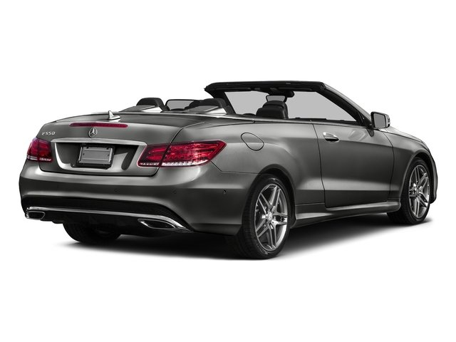 Selenite Grey Metallic 2017 Mercedes-Benz E-Class Pictures E-Class E 550 RWD Cabriolet photos rear view
